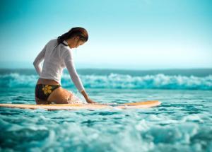 Sexy surfer Bali Girls